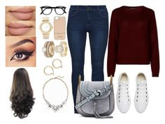 """""""Untitled #47"""" by mh142993 on Polyvore featuring 360cashmere, Converse, Chloé, Rebecca Minkoff, Chico's, Allurez, Nordstrom and Old Navy"""