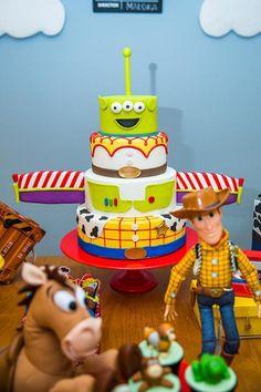 Toy Story Birthday Cake, Woody Birthday, Cowboy Birthday, Boy Birthday Parties, 2nd Birthday, Cowboy Party, Toy Story Theme, Toy Story Buzz, Toy Story Party