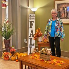 Happy Fall from all of us here at Lake Bonavista Village Retirement Residence in Calgary! 😄🍂🍁 #vervecares #community #fall #goodtimes