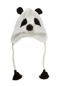 db7347cf356 Adult Women s 3D Animal Costume Knit Beanie Hat - Panda Face - Halloween  Party - Click