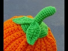 Pumpkin Top Crochet Tutorial - YouTube
