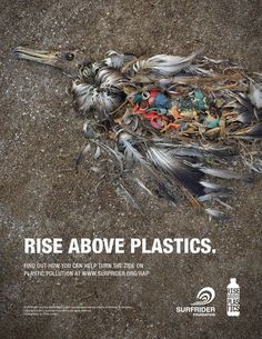 Creative print ads target plastic pollution | Print Ads, Plastic ...