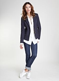 Natalia Blazer | Jacket | Baukjen