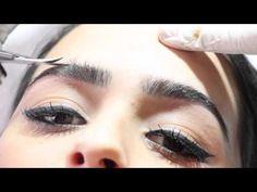 Micropigmentação fio a fio 3D - passo a passo. - YouTube