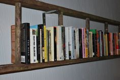 Great inexpensive solution for all those books that have been in boxes....