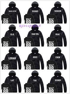 EXO wolf hoodies