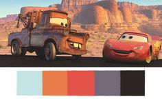 These Disney•Pixar Palettes are the Most Aesthetically Pleasing Things You'll See All Day