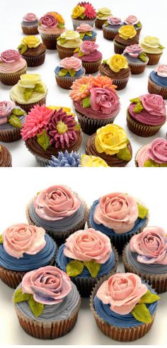 Pipes Buttercream Flowers