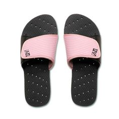 5cc59e5e6a61 Keep your feet comfy and clean with the AquaFlops Shower Shoes. This  striking slide design has a hook and loop fastener