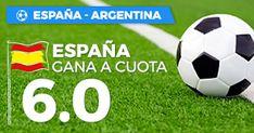 el forero jrvm y todos los bonos de deportes: Paston Megacuota España vs Argentina 27 marzo