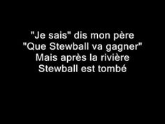 Hugues Aufray - Stewball (Paroles)