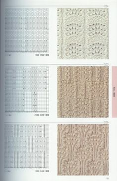 beautiful patterns knitting |