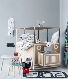 mommo design: 6 DIY CARDBOARD TOYS - Cardboard truck