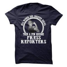 Press Reporter T SHIRT