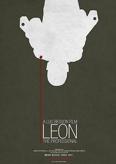 Movie Posters Cinema Poster Design  Leon