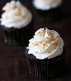 St. Patrick's Day Cupcake: Irish Car Bomb Cupcakes