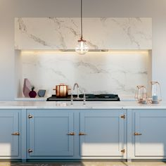Caesarstone is the natural choice for a wide variety of kitchen applications, from splashbacks and kitchen countertops and to feature panels and more. Design Your Kitchen, Interior Design Kitchen, Bathroom Designs Images, Cuisines Design, Beautiful Kitchens, Home Kitchens, Countertops, Kitchen Remodel, House Design
