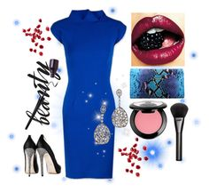 """""""Get the party look with @emilevidalcarr @janiko_official #Janiko @LDEZEN #ShopAtMayfair"""" by atmayfair ❤ liked on Polyvore featuring мода, Diya, NYX и Gucci"""