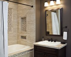 40 beige stone bathroom tiles ideas and picturesis free HD Wallpaper. Thanks for you visiting 40 beige stone bathroom tiles ideas and pictur. Beige Tile Bathroom, Bathroom Tile Designs, Bathroom Design Small, Bathroom Renos, Bathroom Ideas, Stone Bathroom, Basement Bathroom, Houzz Bathroom, Tiled Bathrooms