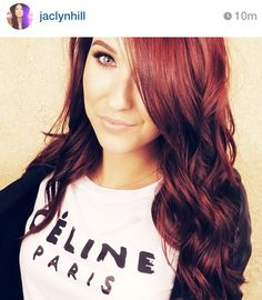 jaclyn hill :: Red Hair Color