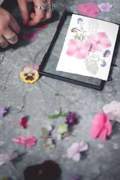 Botanical Mother's Day Greeting DIY With Terrain