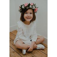 Lililotte -  Robe Rosalie lange blanc