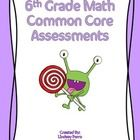 This resource contains a one page assessment for each 6th grade math common core standard. A total of 29 assessments are included, each containing 5 to 8 questions.    Great to use as homework, a quiz or review before testing!