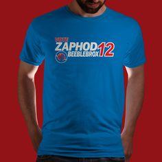 Zaphod Beeblebrox 2012!!!