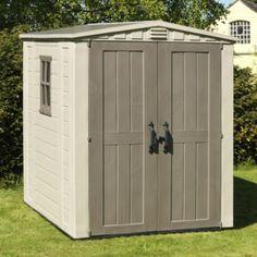 Keter 6x6 Factor Plastic Garden Shed - Home Delivered, 7290103664930