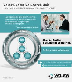Institucional do Executive Search Veler, para mídias sociais
