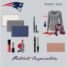"""Game Day Inspiration - New England Patriots"" by natalie-edmondson on Polyvore"