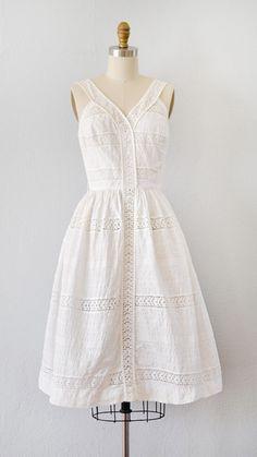 vintage 1950s dress | Views of Leignon Dress | Adored Vintage