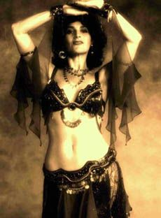 Tribal Fusion/Belly Dance: How To: Dina With Chiffon Sleeve Drapes. Arm adornments.