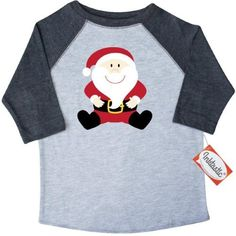 b93e655d9e9 Inktastic Christmas Santa Claus Toddler T-Shirt Kris Kringle Fat Chubby  Holiday Roly Poly Cute Smiling Happy Holidays Merry Tees.