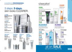 Avon Clearskin products and Acne treatment kits, blackhead scrub that work, treat Acne at affordable prices. Compare prices with Proactive treatments