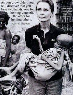Actress/Activist Audrey Hepburn