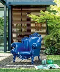 Magis Proust outdoor armchair   Magis   design Alessandro Mendini /// Magis Proust fotel outdoor   Magis   design Alessandro Mendini
