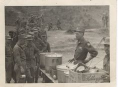 preparing to serve breakfast to the troops on Pork Chop Hill during the Korean War.