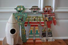 a stitch of life: Robot Update