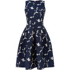 Style Dresses available on the High Street. full skirt Prom dresses and wiggle dresses for inspired outfits Full Midi Skirt, Blue Midi Dress, Skirt Pleated, Midi Skirts, Skater Dress, A Line Prom Dresses, Trendy Dresses, Dress Prom, Party Dress