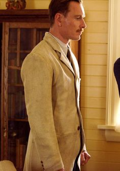 "Michael Fassbender as Tom Sherbourne in ""The Light Between   Oceans""  (2016)"