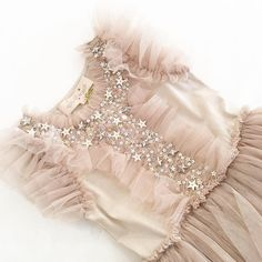 Love the capped tulle sleeve on this piece is such a sweet look. Going to the cutest gal. Little Dresses, Little Girl Dresses, Girls Dresses, Flower Girl Dresses, Toddler Dress, Baby Dress, Toddler Girl, Little Girl Fashion, Kids Fashion