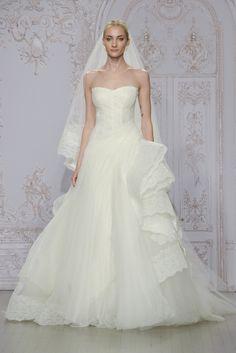 Monique Lhuillier Fall 2015 Bridal Collection