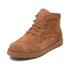 This season, take on the trails with the adventurous appeal of the new Bethany Slim Hiker Boot from UGG®! The Bethany Boot rocks a hiker inspired design, crafted with pretreated suede uppers that repel water and stains, front lacing for a comfortable fit, and signature fleece lining for unmatched warmth and comfort. <br><br><u>Features include</u>:<br> > Pretreated suede upper repels water and stains<br> > Plush sheepskin lining<br> > Lace closure ensures a secure fit<br> > UGGpure™ wool…