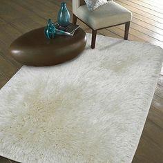 - plush metallic - Heidi Milton - Mohawk Home - shag rug - area rug - metallic shag rug - white rug - white mohawk rug Mohawk Rugs, Mohawk Home, Winter Home Decor, Winter House, White Rug, Accent Rugs, Quote Prints, My Dream Home, Home Decor Inspiration