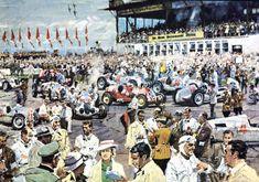 GP da Alemanha em Nürburgring, nas montanhas de Eifel (25 de julho de 1937)