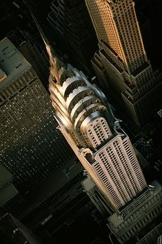 An unusual aerial view on the Chrysler Building. #NewYorkNewYork