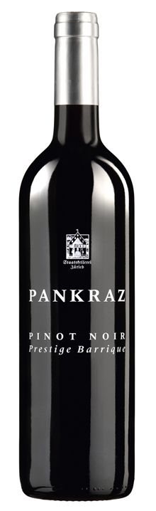 Staatskellerei Zürich, Pankraz Pinot Noir, Packaging Design, Wine, Drinks, Bottle, Drinking, Beverages, Package Design, Flask