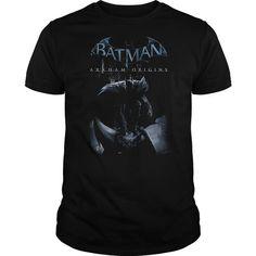 Awesome Tee Batman Arkham Origins Perched Cat T shirts