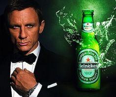 Heinken - Bond's beer